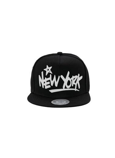 Laslusa New York Hip Hop Snapback Şapka Siyah